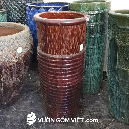 sản xuất chậu cây gốm sứ trang trí cảnh quan, sân vườn