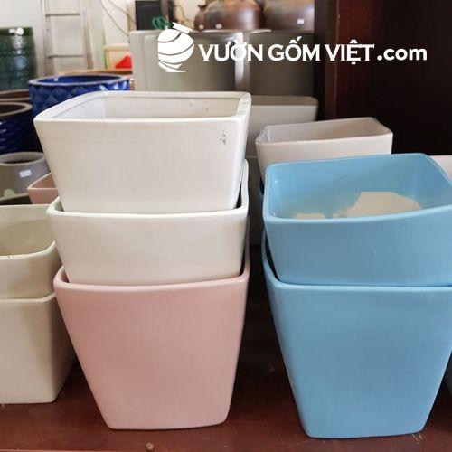 Xưởng nào sản xuất chậu cây gốm sứ chất lượng giá tốt?