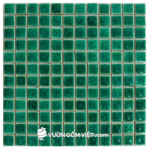 Gạch ốp lát mosaic vuông nhỏ 02