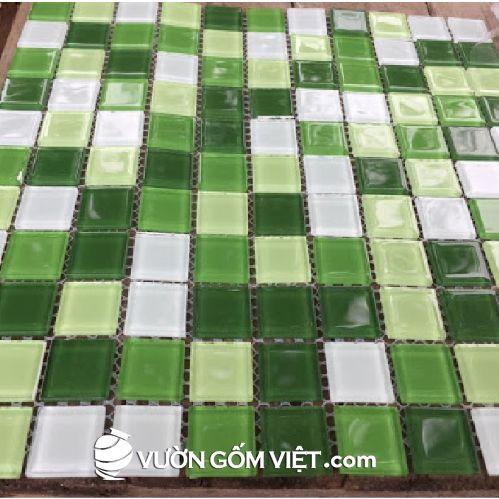 Gạch ốp lát mosaic vuông nhỏ 04