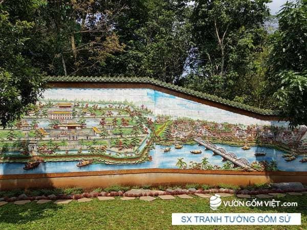 Tranh tường mosaic