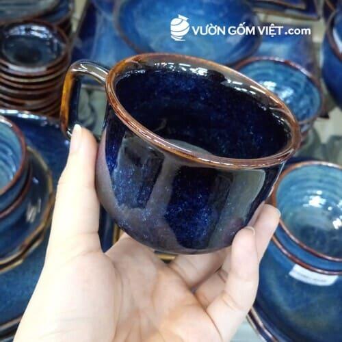 Sản xuất ly tách sứ theo yêu cầu tại Vườn Gốm Việt