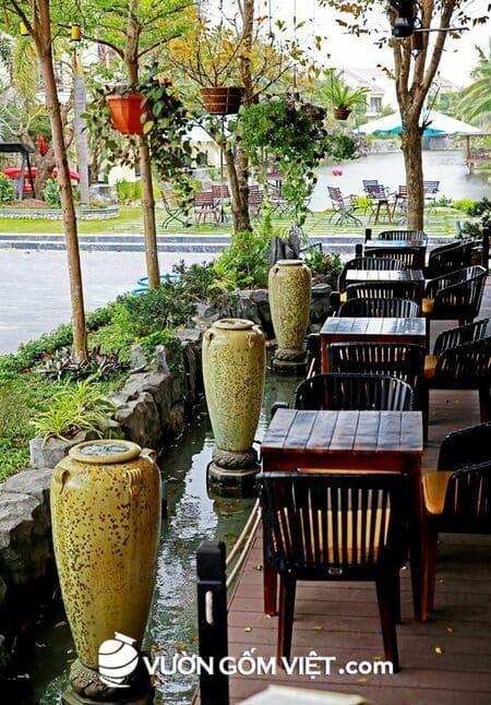 Không gian khách sạn, resort đẹp độc đáo với đồ trang trí gốm sứ