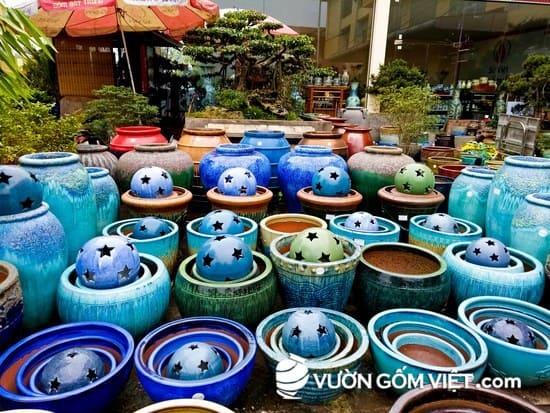Xưởng sản xuất gốm sứ tại Việt Nam - chuyên gốm sứ trang trí sân vườn