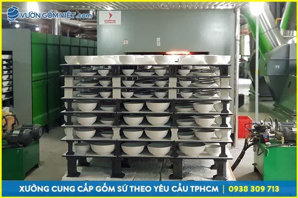 Công ty sản xuất gốm sứ tại TPHCM nhận sản xuất theo yêu cầu