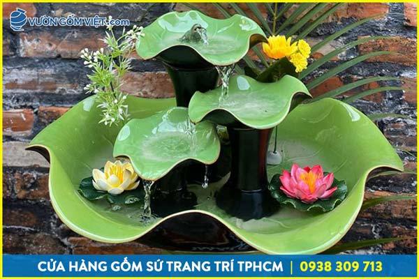 Đồ gốm sứ trang trí sân vườn độc đáo từ Vườn Gốm Việt