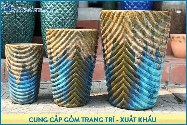 Đồ gốm trang trí Bát Tràng mang nét đẹp văn hóa truyền thống Việt