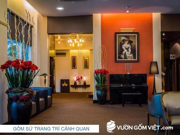 Trang trí không gian nhà hàng khách sạn đẹp mang lại nhiều lợi ích