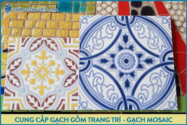 Sản xuất gạch gốm trang trí ốp tường, Gạch gốm sứ cao cấp, Gạch mosaic