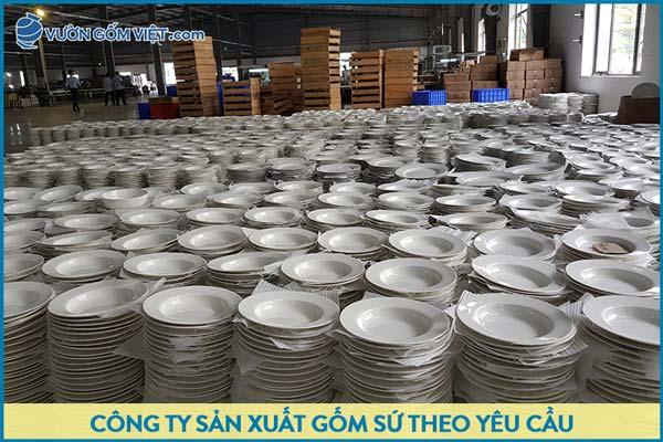 Xưởng sản xuất gốm sứ theo yêu cầu uy tín - giá cạnh tranh