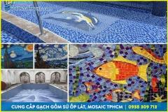 Công ty gạch mosaic tại hồ chí minh, gạch gốm sứ, gạch ốp tường