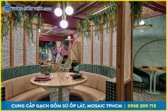 Gạch mosaic cao cấp, gạch trang trí nhà hàng khách sạn, resort