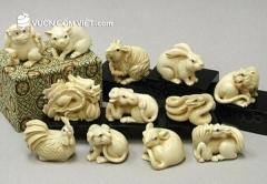 Cách lựa chọn và trưng bày tượng trâu phong thủy gốm sứ đẹp